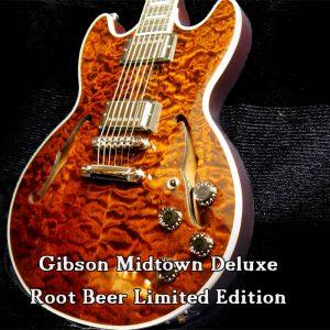 Gibson Midtown Deluxe 2016 Root Beer