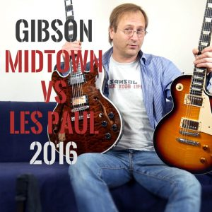 gibson Midtown Deluxe vs Les Paul 2016