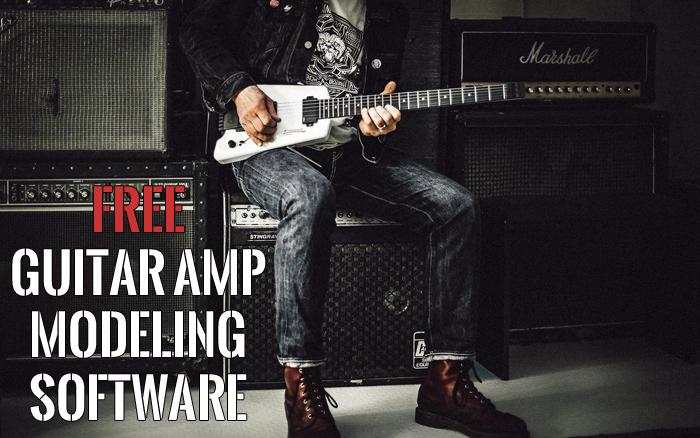 free guitar amp modeling simulation software plug-in